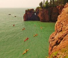 Kayaking the Worlds Highest Tides in the Cape Chignecto Area