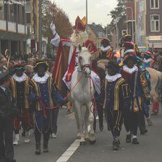 Sint en Pieten te paard, Utrecht 2010