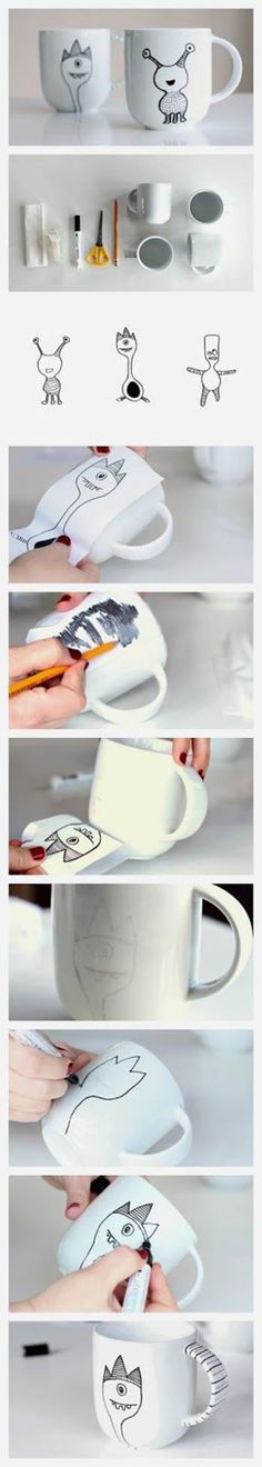 Cute Cup Craft | DIY & Crafts Tutorials