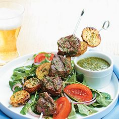 Grilled Steak Potato Kebabs | Best Recipes Try