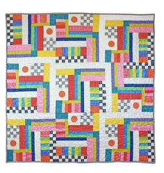 This is Color Play by Marinda Stewart, quilting goddess to Michael Miller Fabrics.