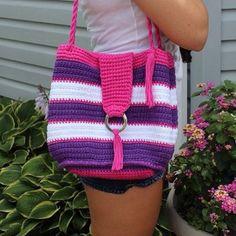 patternparadise crochet purse