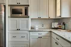 White Kitchen & Dining Room Upgrade - Contemporary - Kitchen - Minneapolis - CliqStudios Cabinets