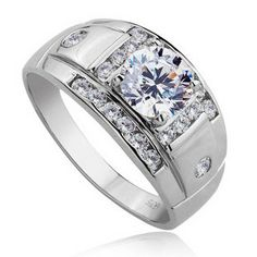 Personalized Name Diamond Perfect Wedding Band for Men