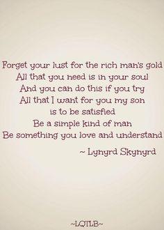 Simple Man- Lynyrd  Skynyrd