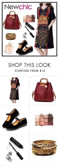 """#newchic"" by petrad-1 ❤ liked on Polyvore featuring tarte, Bobbi Brown Cosmetics, Amrita Singh, chic, New and newchic"