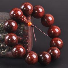 [¥271.81] India Lobular Red Sandalwood Beads Bracelets High Density (Specification: 18mm)