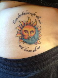The gallery for --> Sun And Moon Kissing Tattoo Meaning