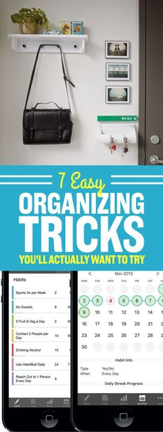 It only takes 15 minutes to be a little bit more organized.