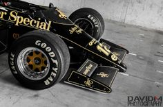Senna's black and gold special: ...