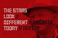 NT Hektor Gagarin Fonts Hektor Gagarin is part of the Gagarin Family. Made by Novo Typo. Designers from Amsterdam, The Nethe by NovoTypo