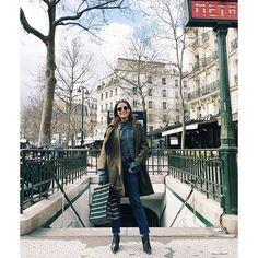 Yesterday around Paris  #collageontheroad #pfw