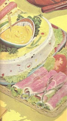 47 best mid century potluck images vintage recipes ancient recipes kitchens for Better homes and gardens potato salad