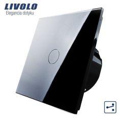 VL-C701S-12 Dotykový vypínač Livolo pre zapojenie svetla na ovládanie z dvoch alebo viacerých miest