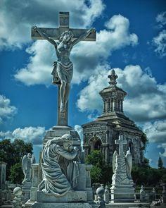 Colon Cemetery in Habana, Cuba
