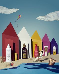 Nice use of illustration. Reminded me of the beach huts along Hove Lawns