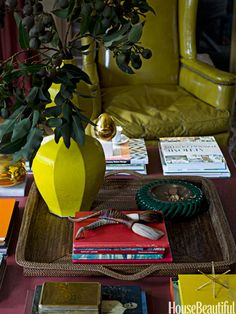 Coffee Table Decorating Tips - How to Style a Coffee Table - House Beautiful
