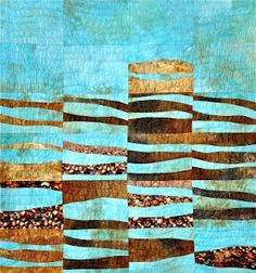 Diane Wright Art Quilts: Thimble Islands