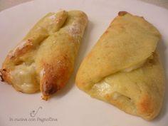 Cannoli di patate, prosciutto e mozzarella