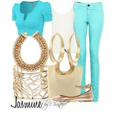 """Jasmine"" by disneybychantelle on Polyvore"