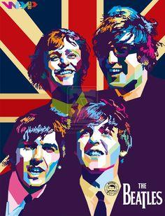 The Beatles in WPAP by bagusdwinan