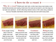 How to Tie a  Roast
