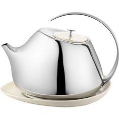 HELENA teapot with coaster | Georg Jensen