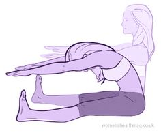 Compression Fracture Preventer. This exercise stretches the spine and works your glutes and thighs.