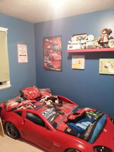 Boys Race Car Bedroom Themed Bedrooms Themes Kids