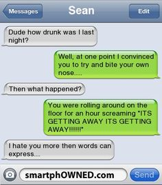 15 Funniest Drunk Texts Ever Sent - Autocorrect Fails and Funny Text Messages…