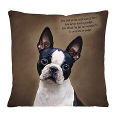 Needful thing!  Boston Terrier Poetic Portraits - The Danbury Mint  - http://www.danburymint.com/prod/14D/Boston-Terrier-Poetic-Portraits_9723-0031.aspx