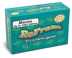 Talicor ReFraze Movie Edition Up to 1985 Game - NuMercy.com
