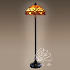 Lampa witrażowa Tangerine New Style F181467B