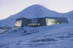 Administration Building for the Governor of Svalbard -