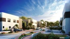 Residential - Medium by Evolve Media Ltd. , via Behance