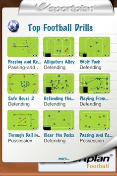 football training drills apps - https://twitter.com/EpicSoccer78/status/628382434577416192