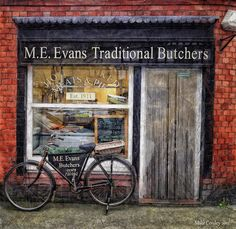 Butcher`s Shop - Overton