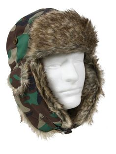63faec7ad58 Fur Flyers Hat in Woodland Camo - Get it at - http   www