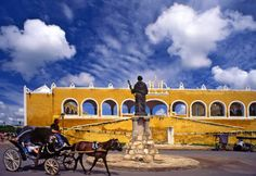 """Izamal, one of Mexico's 35 """"Magical Towns"""" #TravelTuesday 
