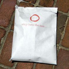 Custom printed shipping bags.