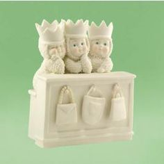 Party with the Snowbaby Girls on Department56Corner :)