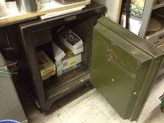 Antique Vintage Diebold Safe