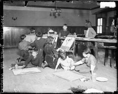 Hull_House_art_dn_1924_dbloc_sized  about hull house legacy/ teaching artist context
