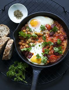 moroccan eggs - I need to find the recipe, it looks amazing