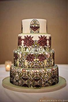 Cake Wrecks - Home - Sunday Sweets: ArtNouveau