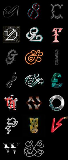 Type Works on Behance