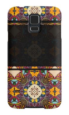 """""""Seamless ornament """"Ethnic"""""""" Samsung Galaxy Cases & Skins by floraaplus 