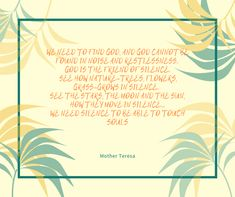 Wouldn't you want your parents to be able to see your face during the ceremony? Finding God, Nature Tree, Mother Teresa, Wedding Vows, Thoughts, Reading, Words, Blog, Word Reading