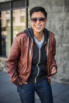 Meg Allen's photo gallery, 'Butch', photos of San Francisco butches. Love the hair