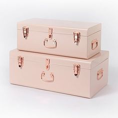 Incredibly practical and super-stylish; this traditionally-designed set of 2 Beautify Storage Trunks will make an elegant addition to any home. A versatile way...
